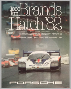 1982 1000 KM of Brands Hatch Victory Poster