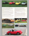1976 Porsche full line factory sales brochure inside