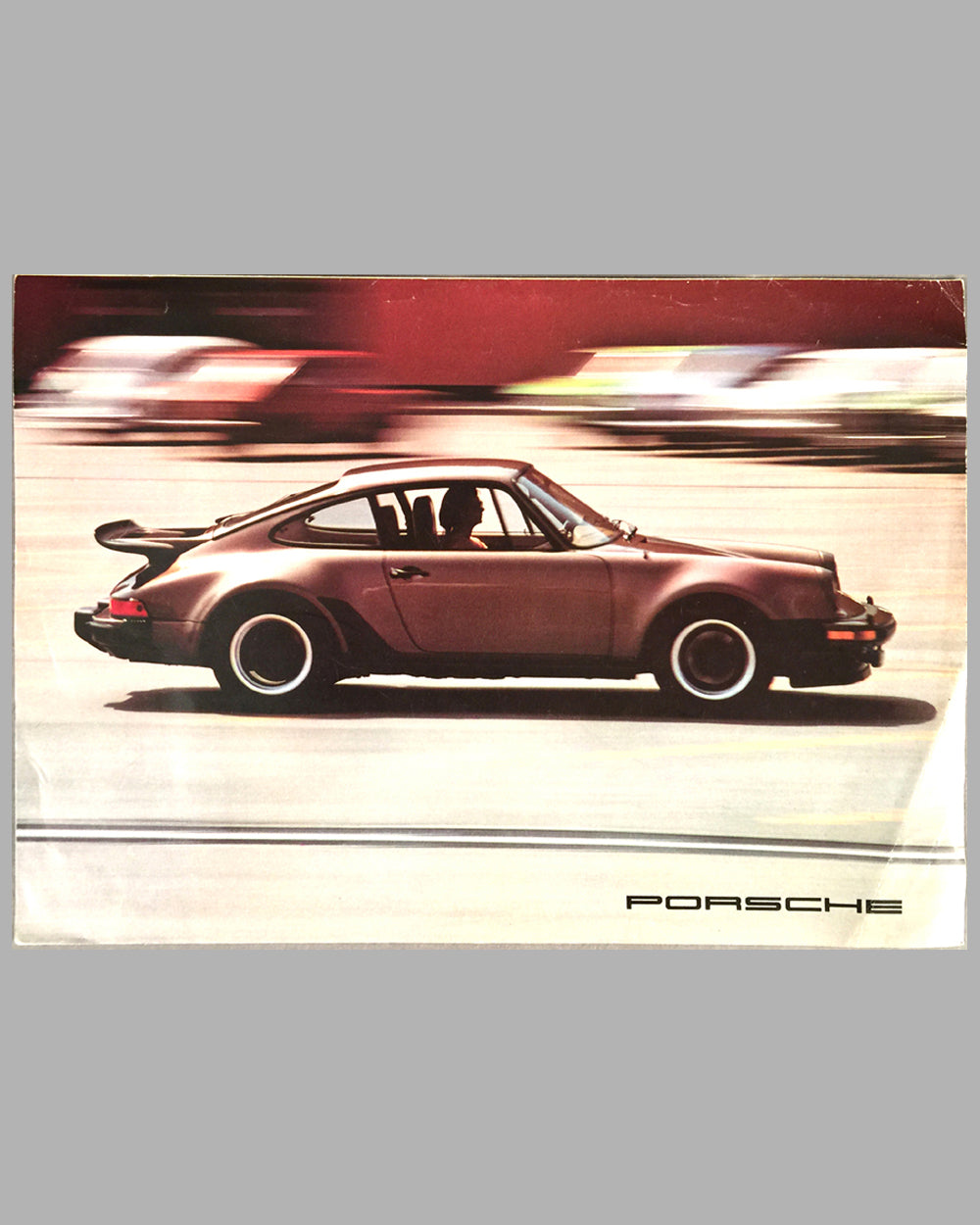 1976 Porsche full line factory sales brochure