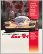 Porsche Cup 1984 original victory poster published by the factory