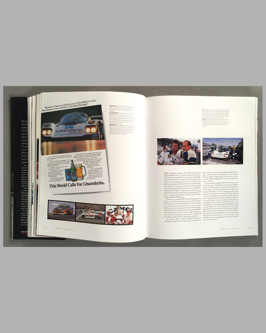 Prototypes - The History of IMSA GTP book by Martin and Wells inside