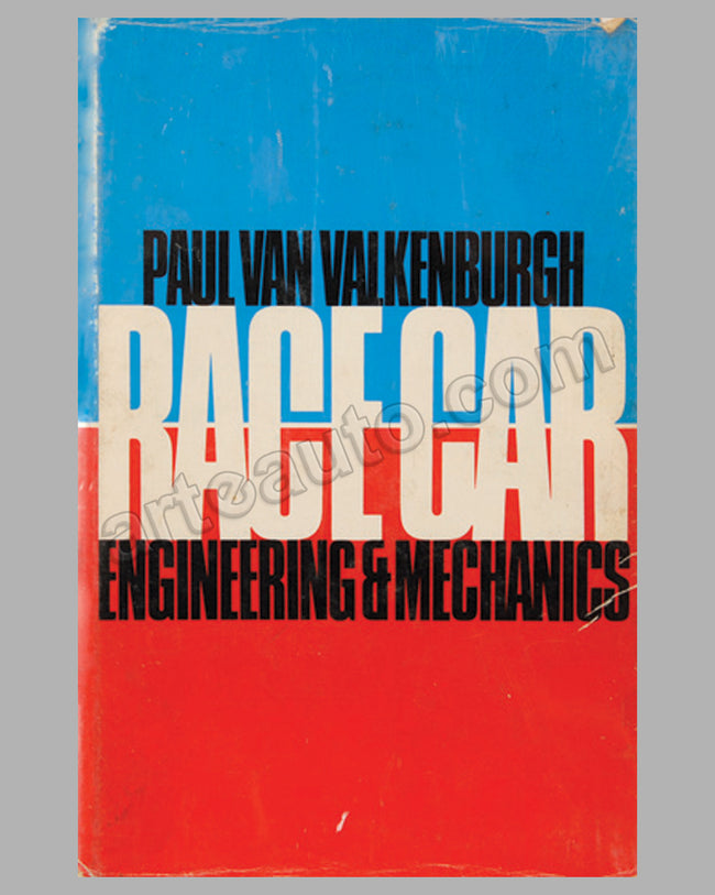 Race Car Engineering and Mechanics book by P. Van Valkenburgh