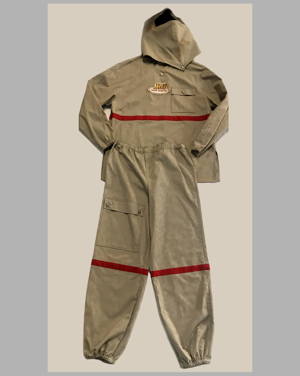 John Weitz prototype driving suit