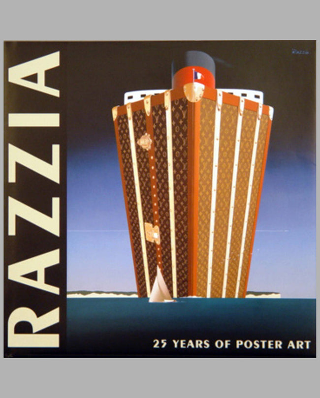 Razzia 25 Years of Poster Art book by M. Ross