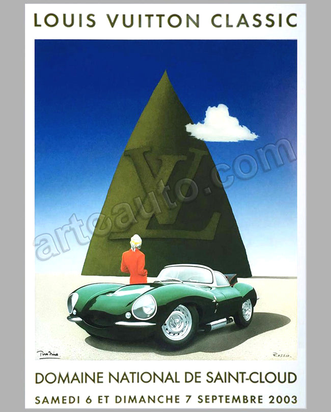 Louis Vuitton Classic Concours d'Elegance St Cloud 2003 large poster by Razzia