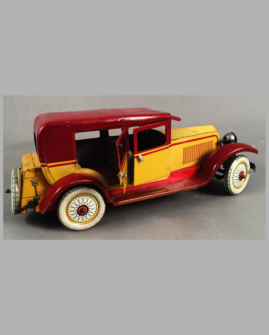 Renault Limousine tin toy by J.E.P. France, Right Side
