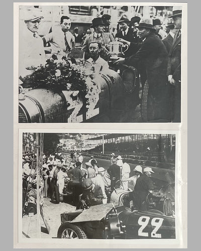 Rene Dreyfus photo album with 40 photographs from his racing career 2