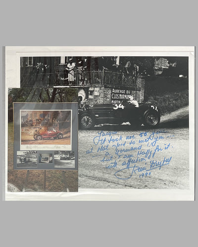 Rene Dreyfus photo album with 40 photographs from his racing career 6