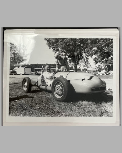 Rene Dreyfus photo album with 40 photographs from his racing career 8
