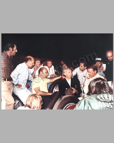Driver's Reunion Color Photograph