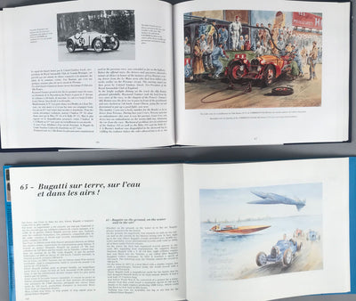 Les 24 Heures du Mans and Bugatti - Two books by Rob Roy - $195.00