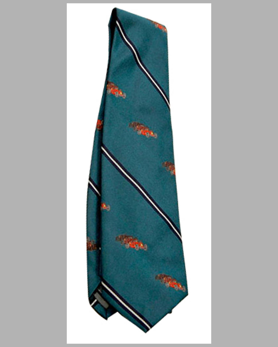 Robert Talbott Race Car necktie, Three Red Racers