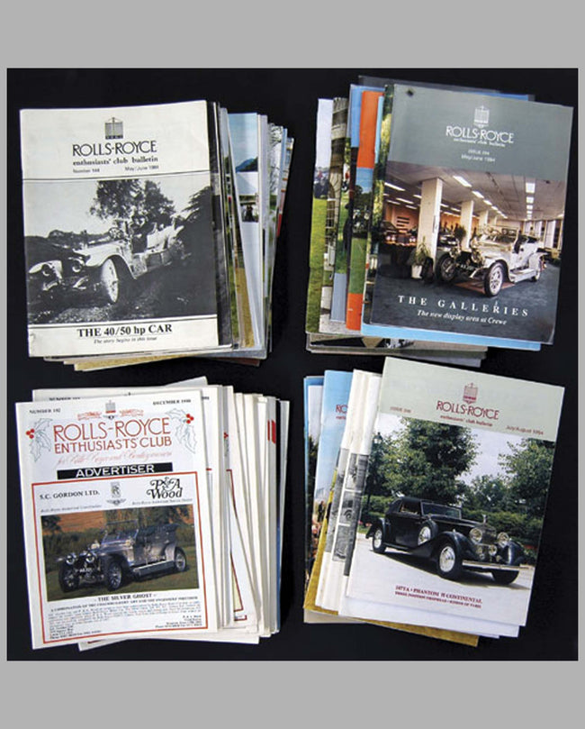 Rolls-Royce Enthusiast's Club Publications