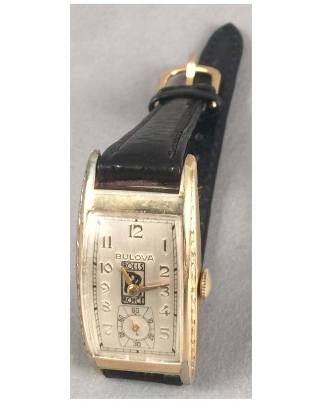 Rolls Royce wrist watch by Bulova, 1936