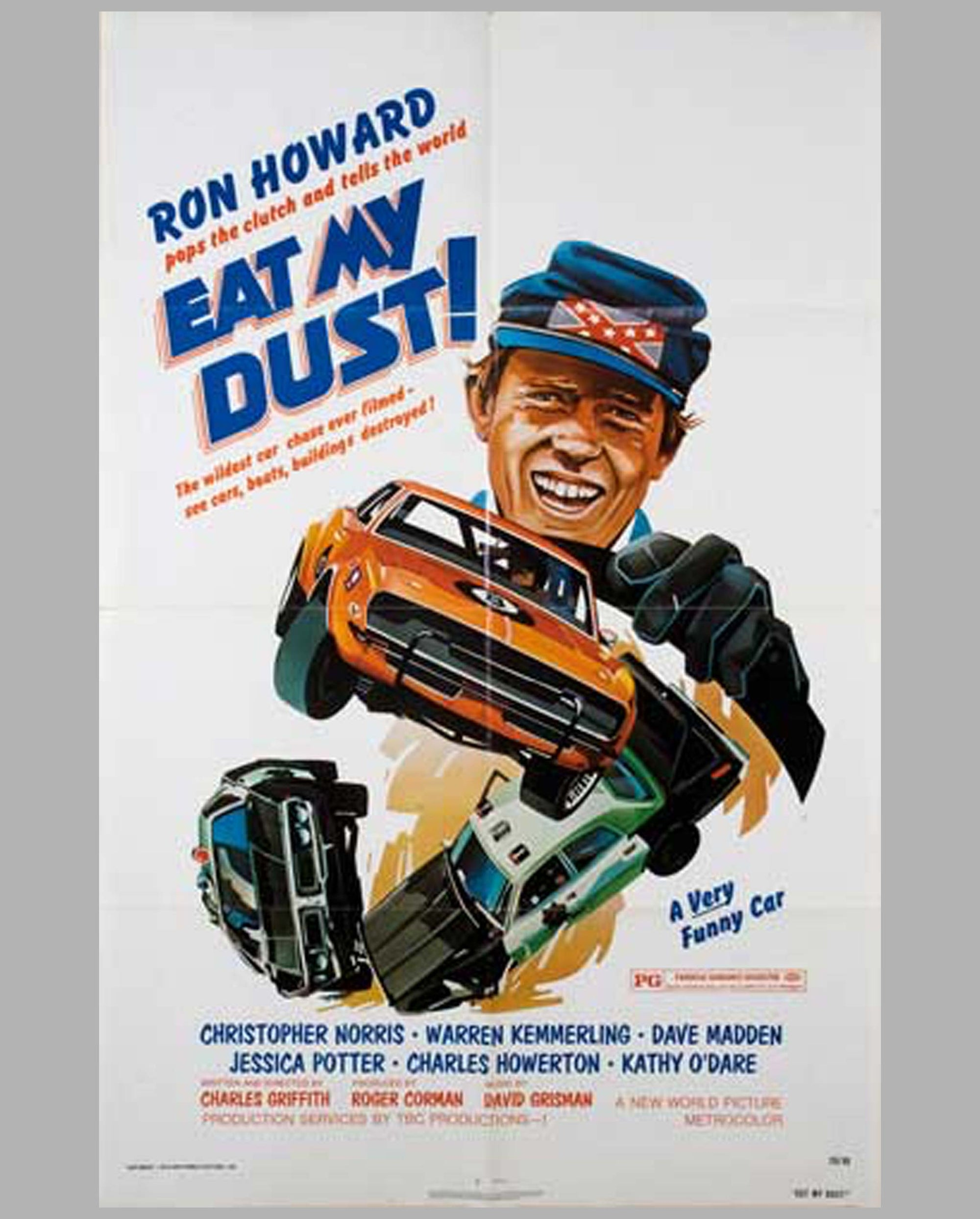 1976 Eat My Dust! original movie poster