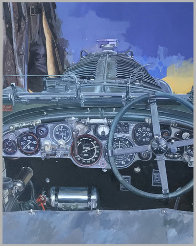 """Bentley Boy"" painting by Stanley Rose 2"
