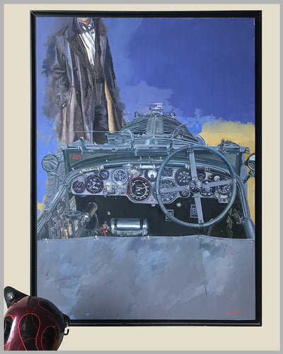 """Bentley Boy"" painting by Stanley Rose"