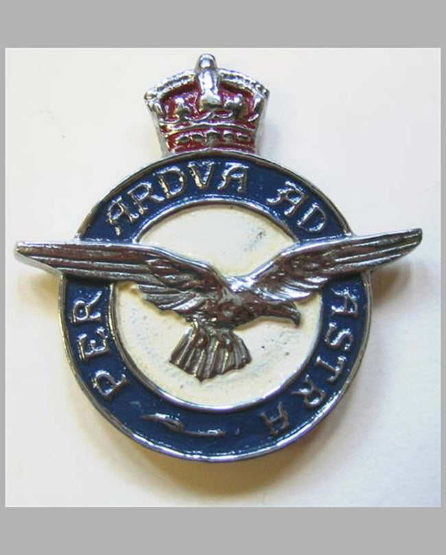 Royal Air Force's emblem badge