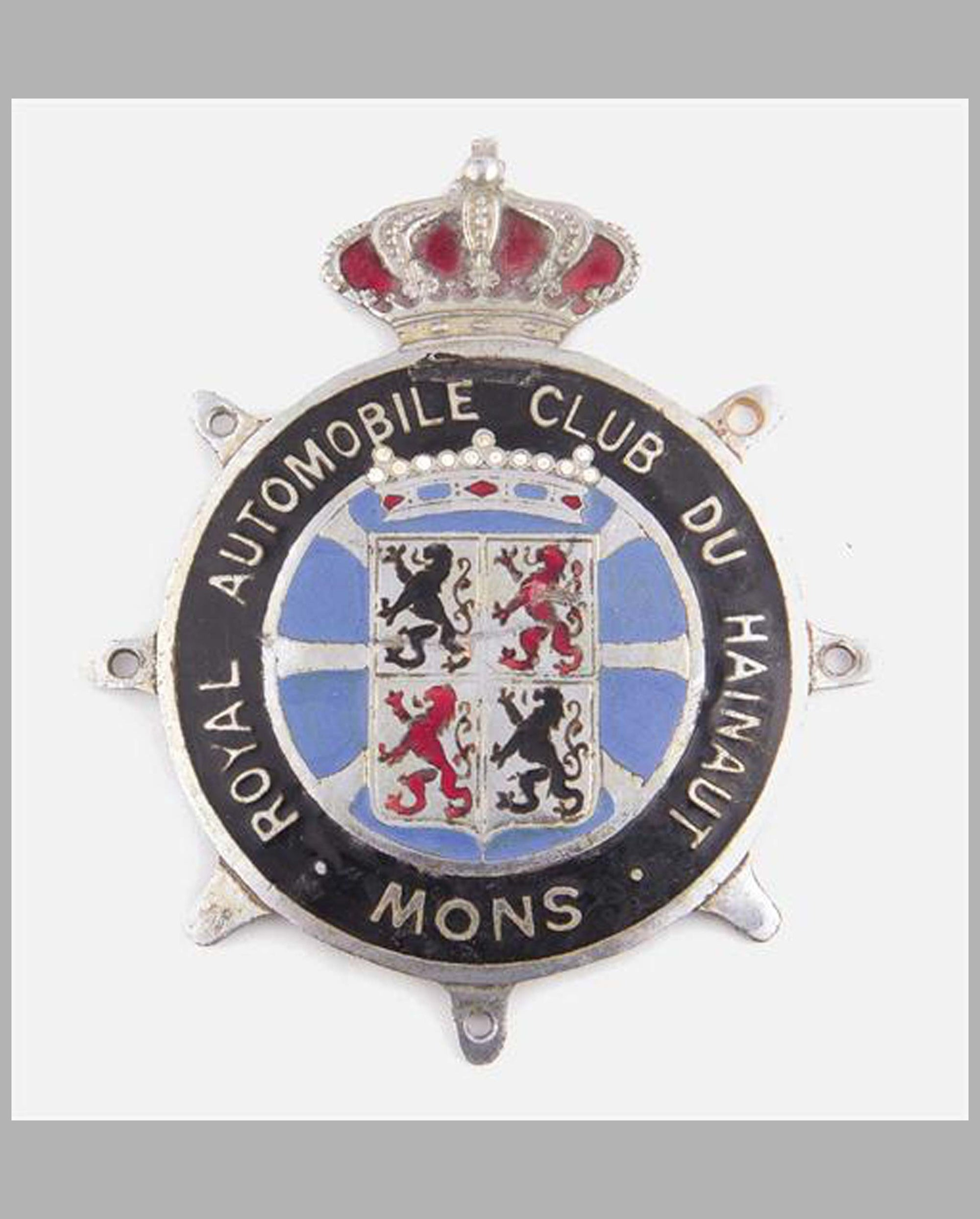 Royal Automobile Club du Hainaut - Snow badge, Belgium