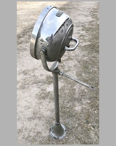Running board side mounted automobile lamp by AGA, U.S. 4