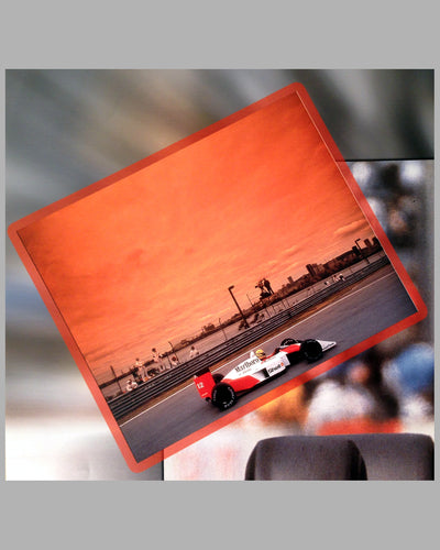 Ayrton Senna winning the Grand Prix of Canada 1988, photo montage by Fernando Gomez 4