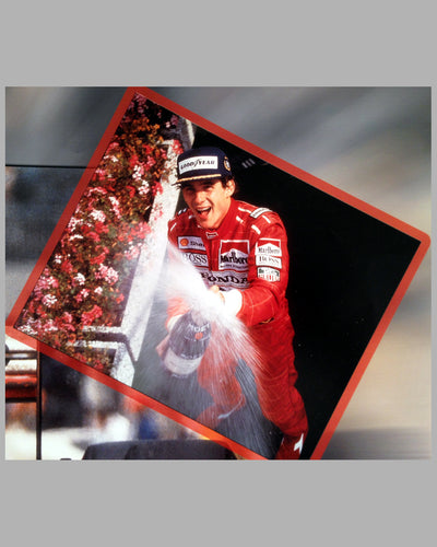 Ayrton Senna winning the Grand Prix of Canada 1988, photo montage by Fernando Gomez 5