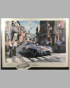 Sicilian Magic print by Nicholas Watts, autographed by Stirling Moss 2