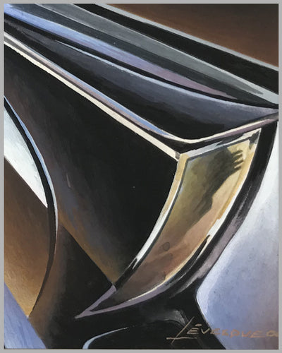 Pierce Silver Arrow painting by Alain Lévesque