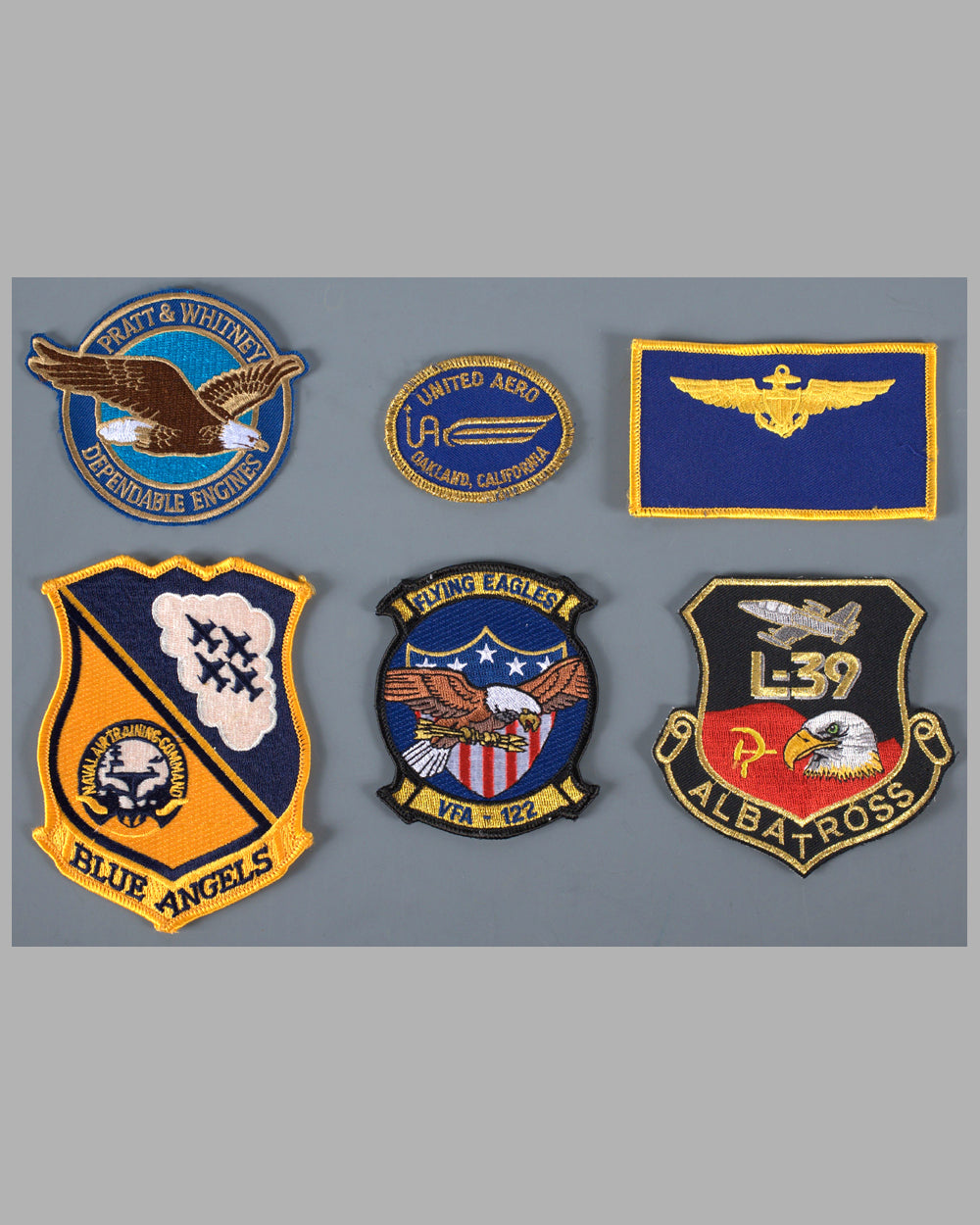 Six aviation patches