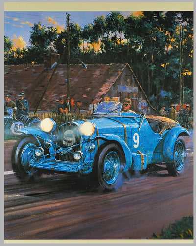 Spirit of Le Mans Print by Nicholas Watts, Open Edition 2