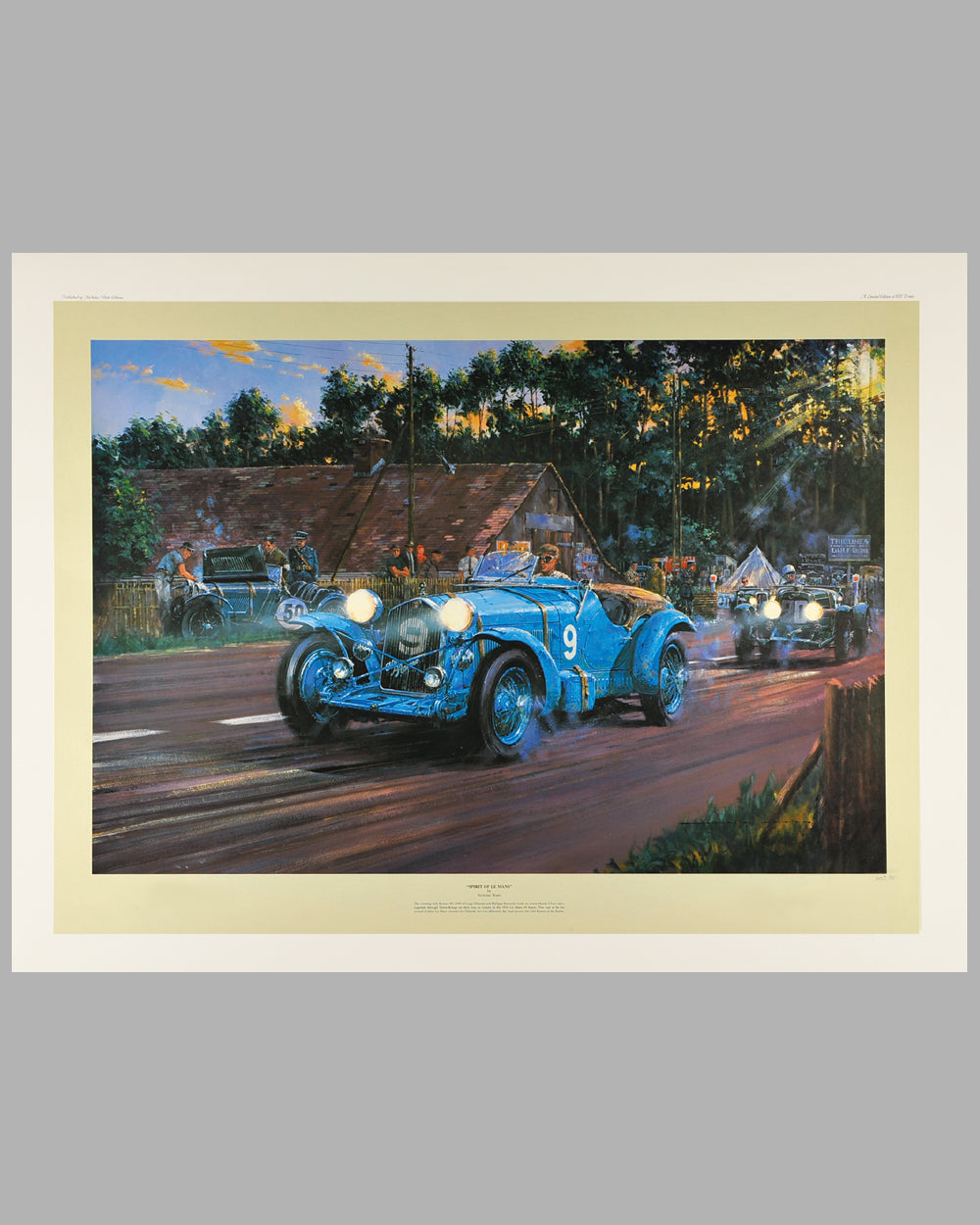 Spirit of Le Mans Print by Nicholas Watts, Open Edition