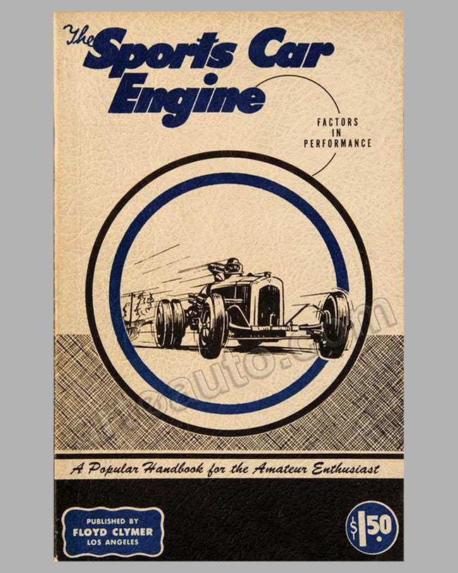 The Sports Car Engine - Factors in Performance book by Calculus