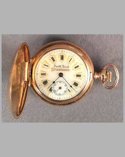 South Bend Studebaker woman's pocket watch, 1920