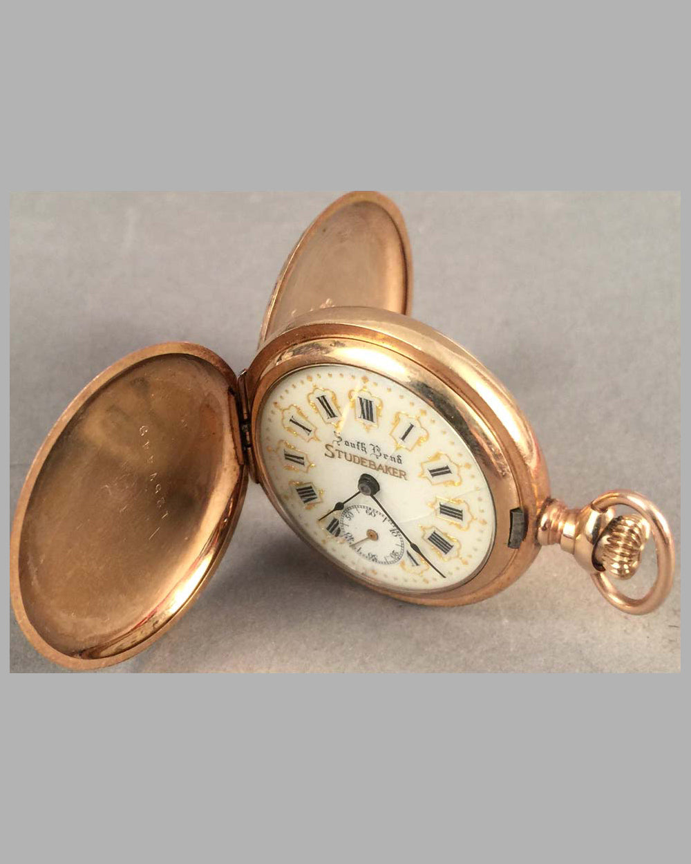 Studebaker woman pocket watch by South Bend