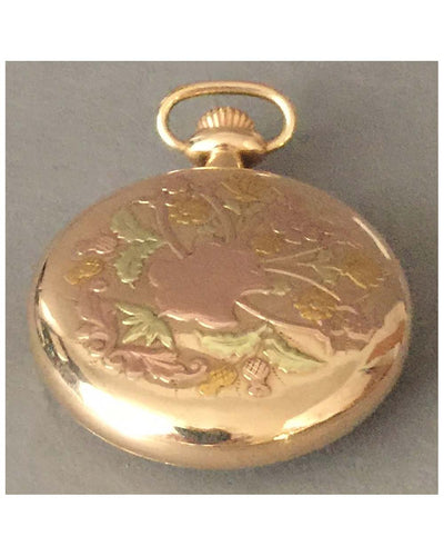 Studebaker pocket watch by South Bend, 1920 back