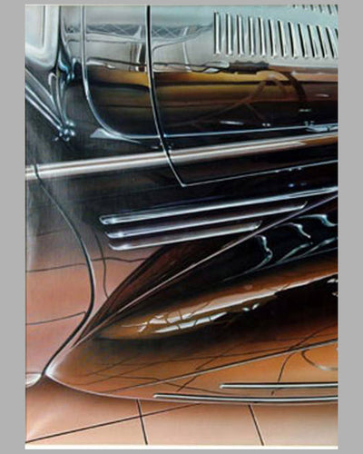 Talbot-Lago painting by Jacob Kapica 3