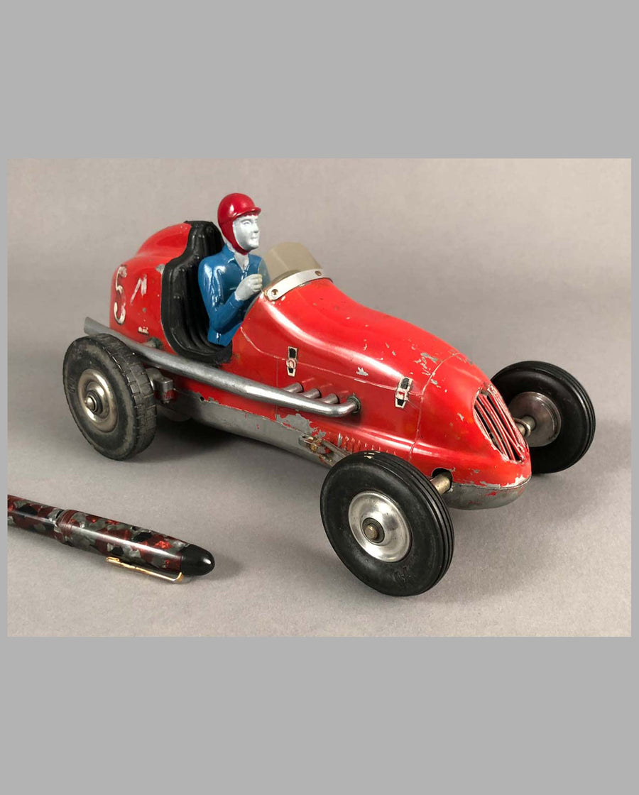 Tether Racer by Olson and Rice, California, 1950's, aluminum front