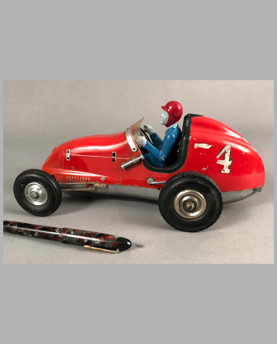 Tether Racer by Olson and Rice, California, 1950's, aluminum side