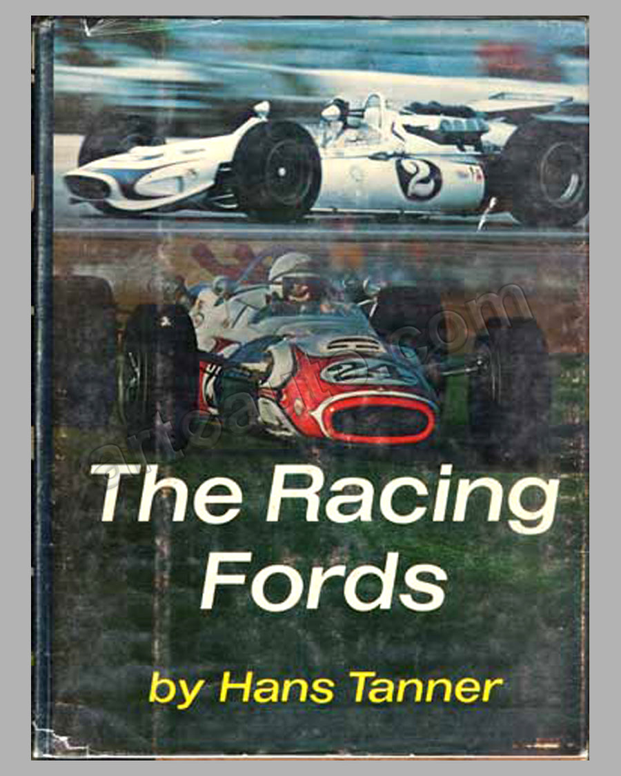 The Racing Fords book by H. Tanner, 1968
