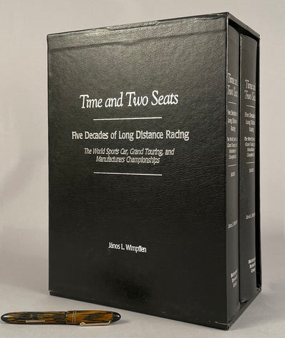 Time and Two Seats - Five Decades of Long Distance Racing books