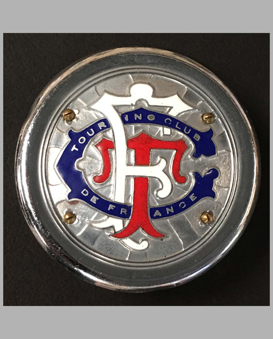Touring Club de France grille badge