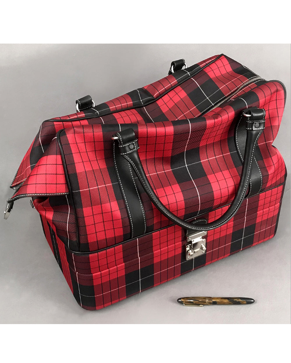 Porsche Factory Luggage - train makeup case / duffle bag