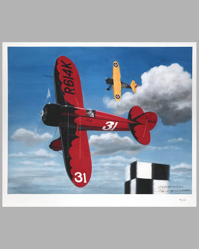Travel Air Type R Mystery Ship giclee by John Dormer (USA)