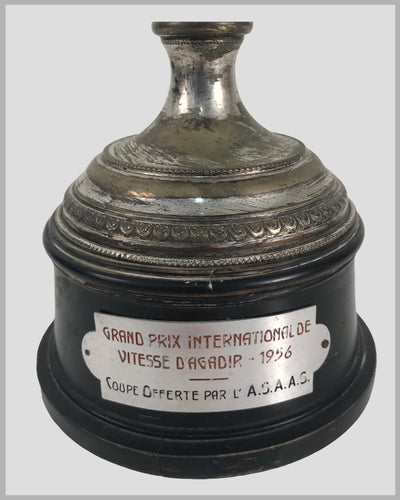 1956 Grand Prix International de Vitesse d' Agadir race trophy 3