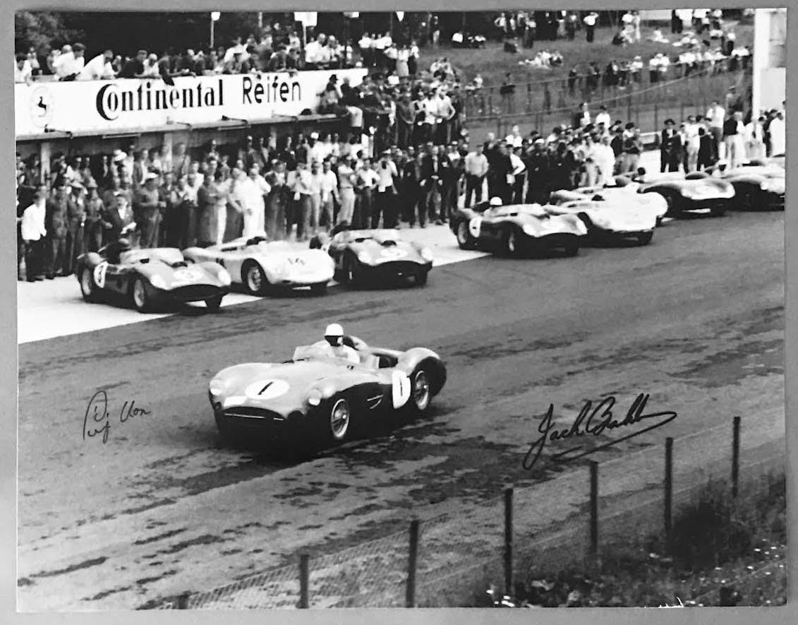 The start of the 1000 K of Nurburgring in 1959 photograph