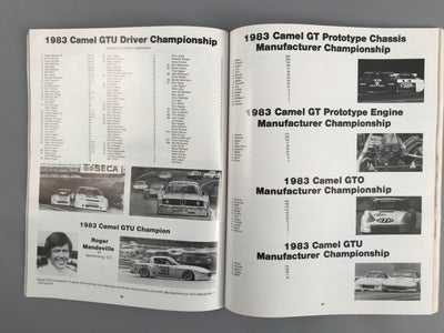 IMSA Yearbook 1984 - $50.00