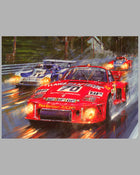 Victory at Le Mans 1979 giclee on paper by Nicholas Watts 2