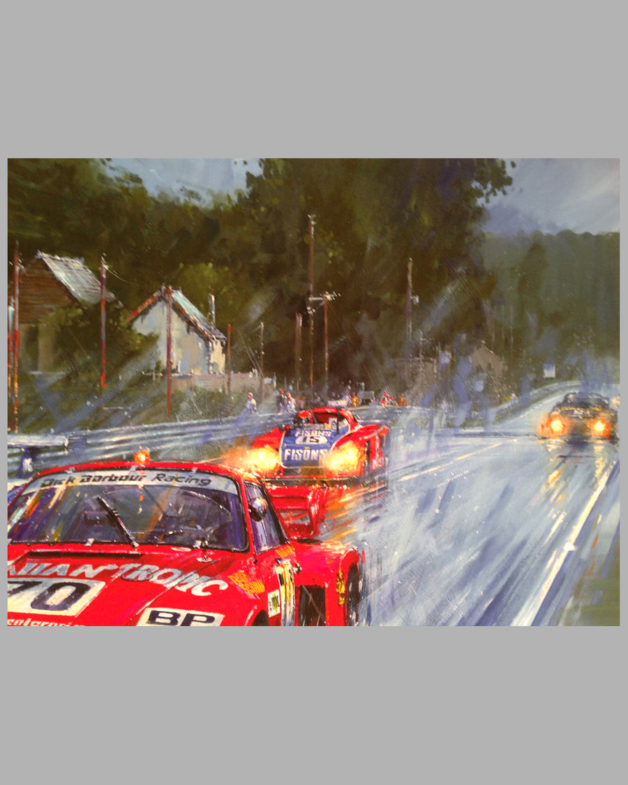 Victory at Le Mans 1979 giclee on paper by Nicholas Watts 3