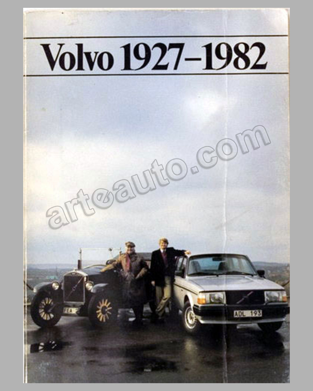 Volvo 1927-1982 book published by the company, 1982