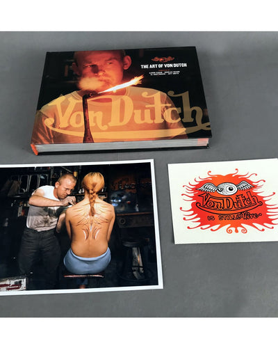 The Art of Von Dutch Deluxe Edition Book